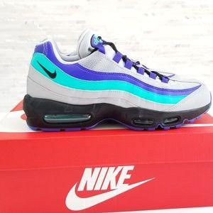 New NIKE Air Max 95 Aqua Sneakers